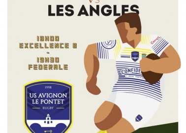 Le grand derby USAP / LES ANGLES