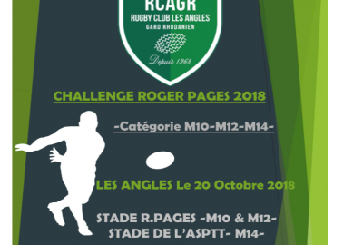 Tournoi de rugby / chalenge Roger Pages